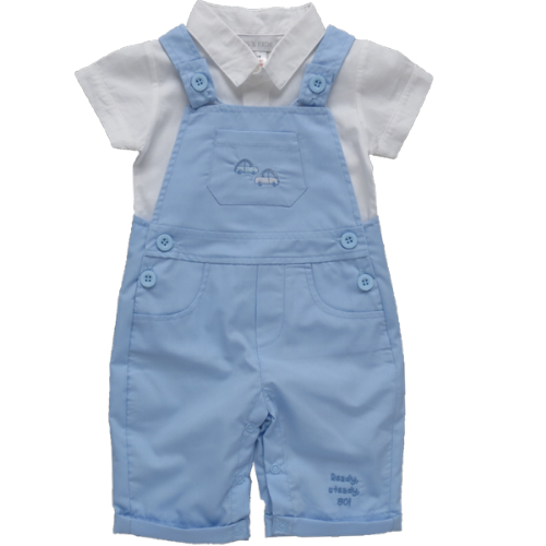 Ready Steady Go - Dungaree Set